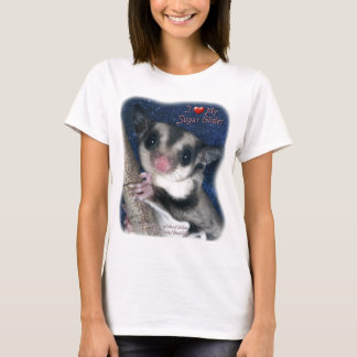 I Love my Sugar Glider - Women's T - Cutest Glider T-Shirt