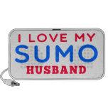 I Love My Sumo Husband Travelling Speakers