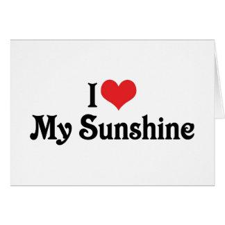 I Love My Sunshine Cards