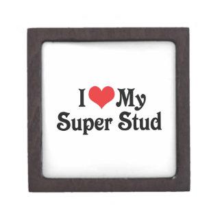 I Love My Super Stud Keepsake Box