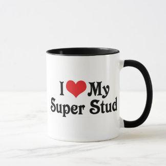 I Love My Super Stud Mug