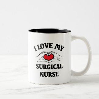 I love my Surgical Nurse Two-Tone Coffee Mug