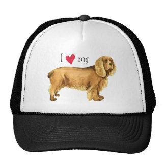 I Love my Sussex Spaniel Trucker Hat