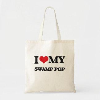 I Love My SWAMP POP Tote Bags