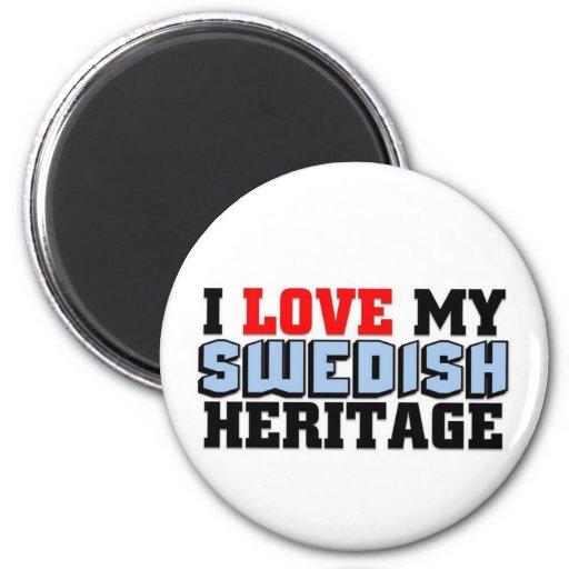 I love my Swedish Heritage Fridge Magnets