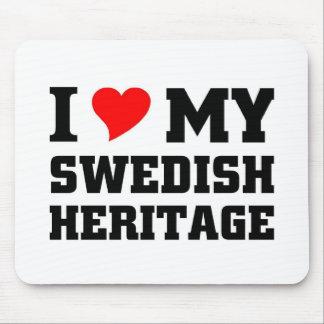 I love my swedish Heritage Mouse Pad