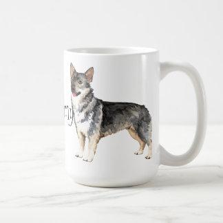 I Love my Swedish Vallhund Coffee Mug