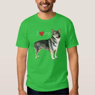 I Love my Swedish Vallhund T Shirt