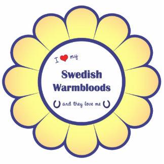 I Love My Swedish Warmbloods (Multiple Horses) Cut Out
