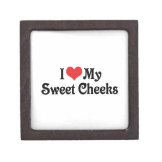 I Love My Sweet Cheeks Keepsake Box