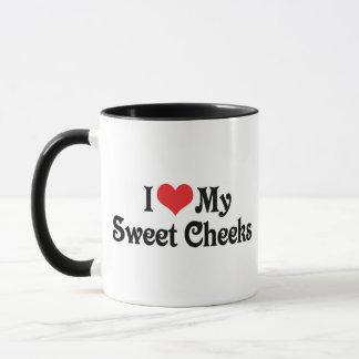 I Love My Sweet Cheeks Mug