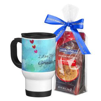 """I Love My Sweet Granddaughter"" Travel Mug"