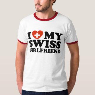 I Love My Swiss Girlfriend T-Shirt