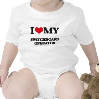 I love my Switchboard Operator Baby Bodysuits