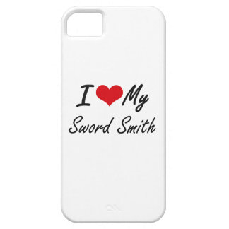 I love my Sword Smith iPhone 5 Covers