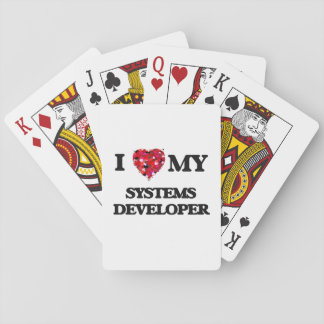 I love my Systems Developer Playing Cards