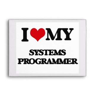 I love my Systems Programmer Envelope