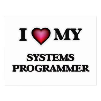 I love my Systems Programmer Postcard