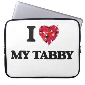 I love My Tabby Laptop Computer Sleeves