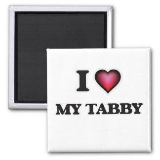 I love My Tabby Magnet