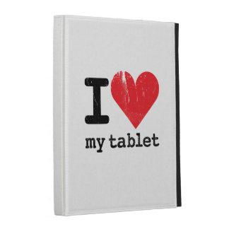 I Love My Tablet iPad Cases
