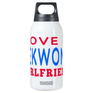 I Love My Taekwondo Girlfriend 10 Oz Insulated SIGG Thermos Water Bottle
