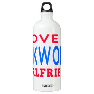 I Love My Taekwondo Girlfriend SIGG Traveler 1.0L Water Bottle