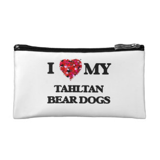 I love my Tahltan Bear Dog Cosmetic Bags