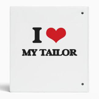 I love My Tailor 3 Ring Binder