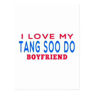 I Love My Tang Soo do Boyfriend Postcards
