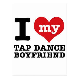 I love my Tap Dance Boyfriend Postcard