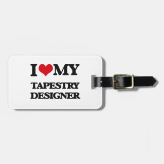 I love my Tapestry Designer Tag For Bags