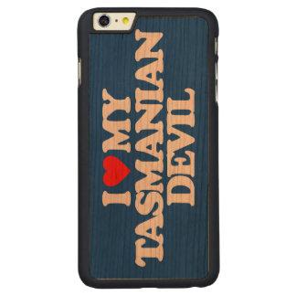I LOVE MY TASMANIAN DEVIL CARVED® CHERRY iPhone 6 PLUS SLIM CASE