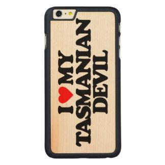 I LOVE MY TASMANIAN DEVIL CARVED® MAPLE iPhone 6 PLUS CASE
