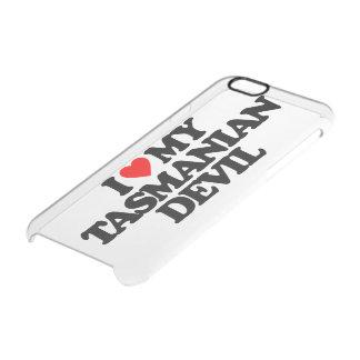 I LOVE MY TASMANIAN DEVIL CLEAR iPhone 6/6S CASE