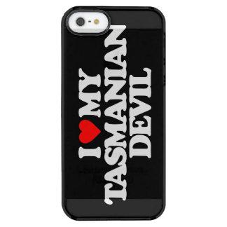 I LOVE MY TASMANIAN DEVIL CLEAR iPhone SE/5/5s CASE
