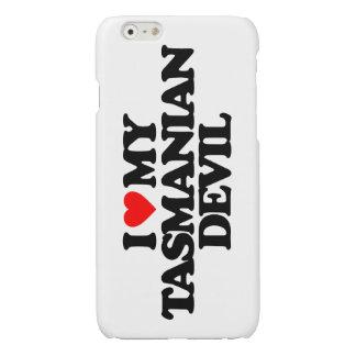 I LOVE MY TASMANIAN DEVIL GLOSSY iPhone 6 CASE