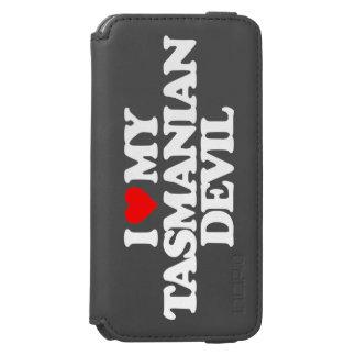 I LOVE MY TASMANIAN DEVIL iPhone 6/6S WALLET CASE