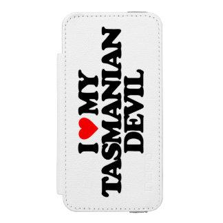 I LOVE MY TASMANIAN DEVIL iPhone SE/5/5s WALLET CASE