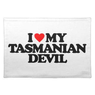 I LOVE MY TASMANIAN DEVIL PLACEMAT