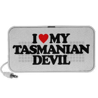 I LOVE MY TASMANIAN DEVIL PORTABLE SPEAKER