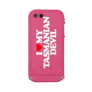 I LOVE MY TASMANIAN DEVIL WATERPROOF iPhone SE/5/5s CASE