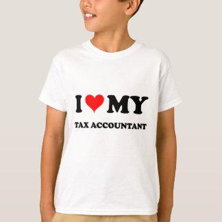 I Love My Tax Accountant T-Shirt