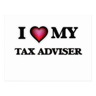 I love my Tax Adviser Postcard