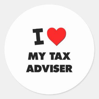 I love My Tax Adviser Sticker