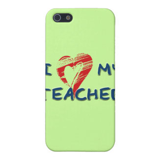 I LOVE MY TEACHER COVER FOR iPhone SE/5/5s