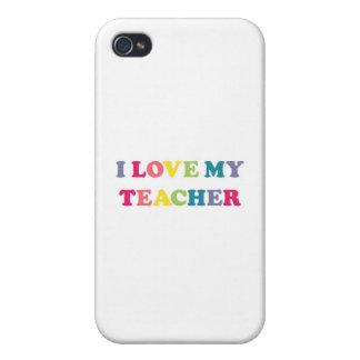 I Love My Teacher iPhone 4/4S Cover