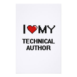 I love my Technical Author Stationery