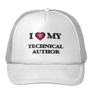 I love my Technical Author Trucker Hat