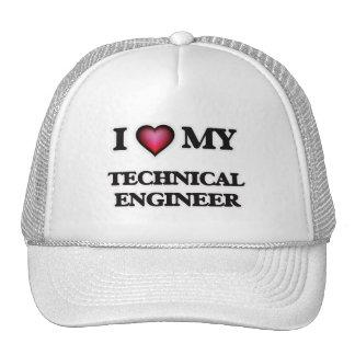 I love my Technical Engineer Trucker Hat